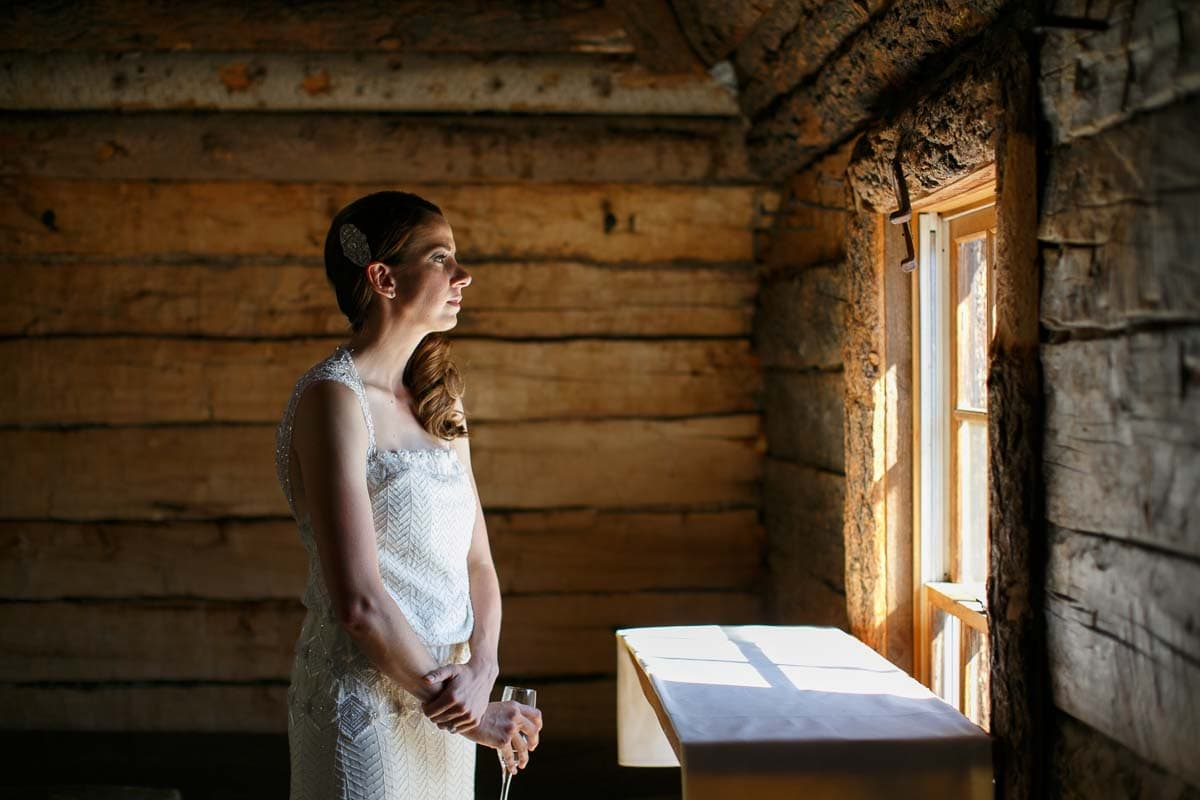 Christian and Deborah's Colorado mountain wedding at Gorrono Ranch in Telluride, CO.