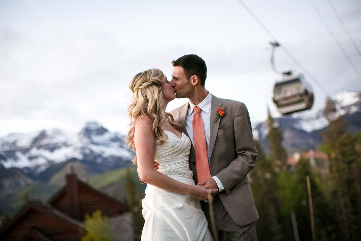 Mitch and Eliza's wedding at the San Sophia Overlook and Mountain Lodge in Telluride, Colorado.