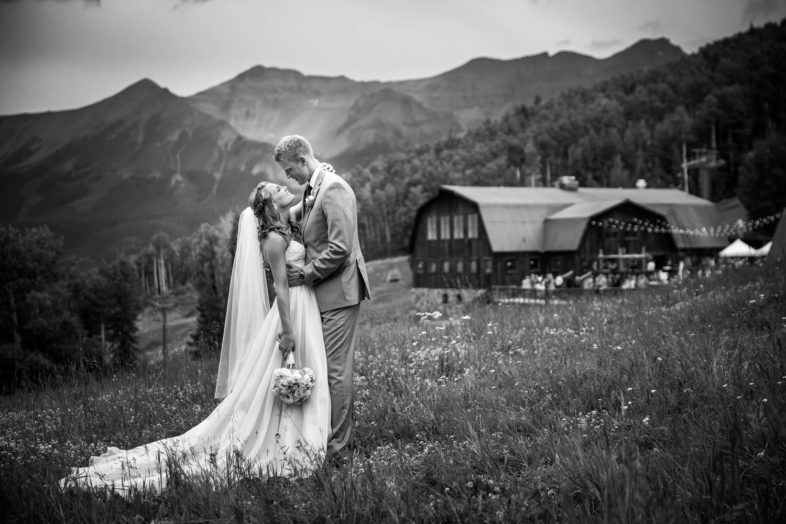 James and Melissa's beautiful mountain wedding in Telluride, Colorado.