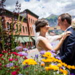 Jenny and Hart's beautiful rustic mountain wedding in Telluride, Colorado