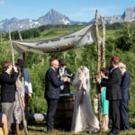 Kate and Russ's beautiful Colorado wedding in the mountains surrounding Telluride.