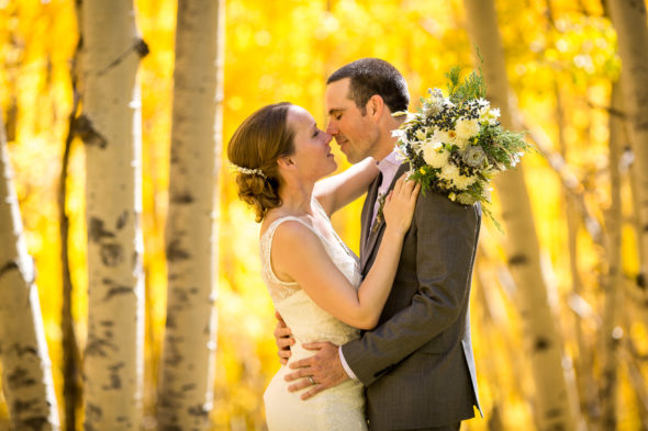 Josh and Rachel's beautiful Fall wedding at the Schmid Ranch in Telluride, CO.