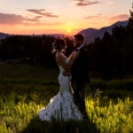 Maryna and Arthur's rustic mountain wedding at the San Sophia Overlook in Telluride, Colorado. Photographs and photo booth rental by Ben Eng.