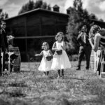 Brandon and Tracy's wedding at the Dalwhinnie Ranch in Ridgway, CO