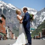 Robbie and Ashley's rustic destination wedding at the San Sophia Overlook and Allred's in Telluride, CO. Wedding planning by Telluride Unveiled.