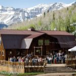 Ryan and Jessica's rustic themed wedding in the mountains of Telluride, Colorado.