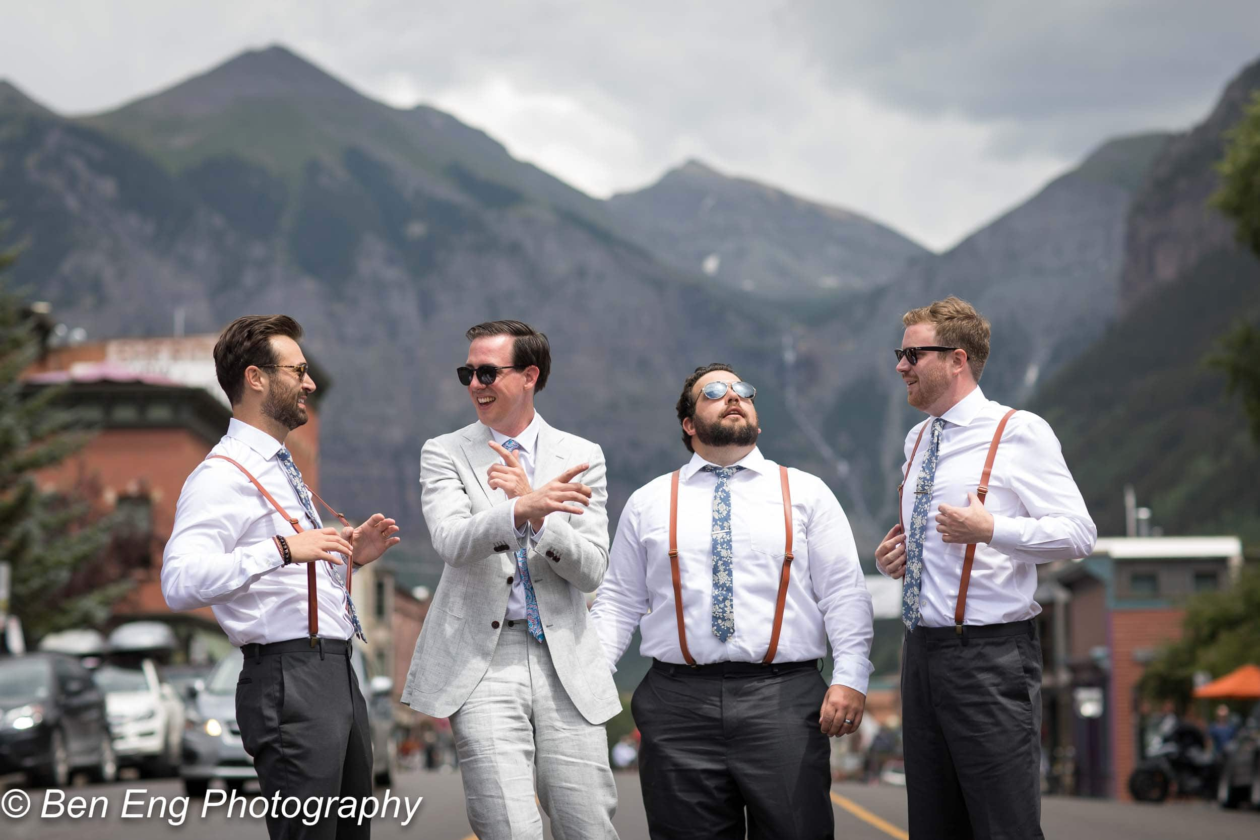 Image by Telluride-based wedding photographer Ben Eng