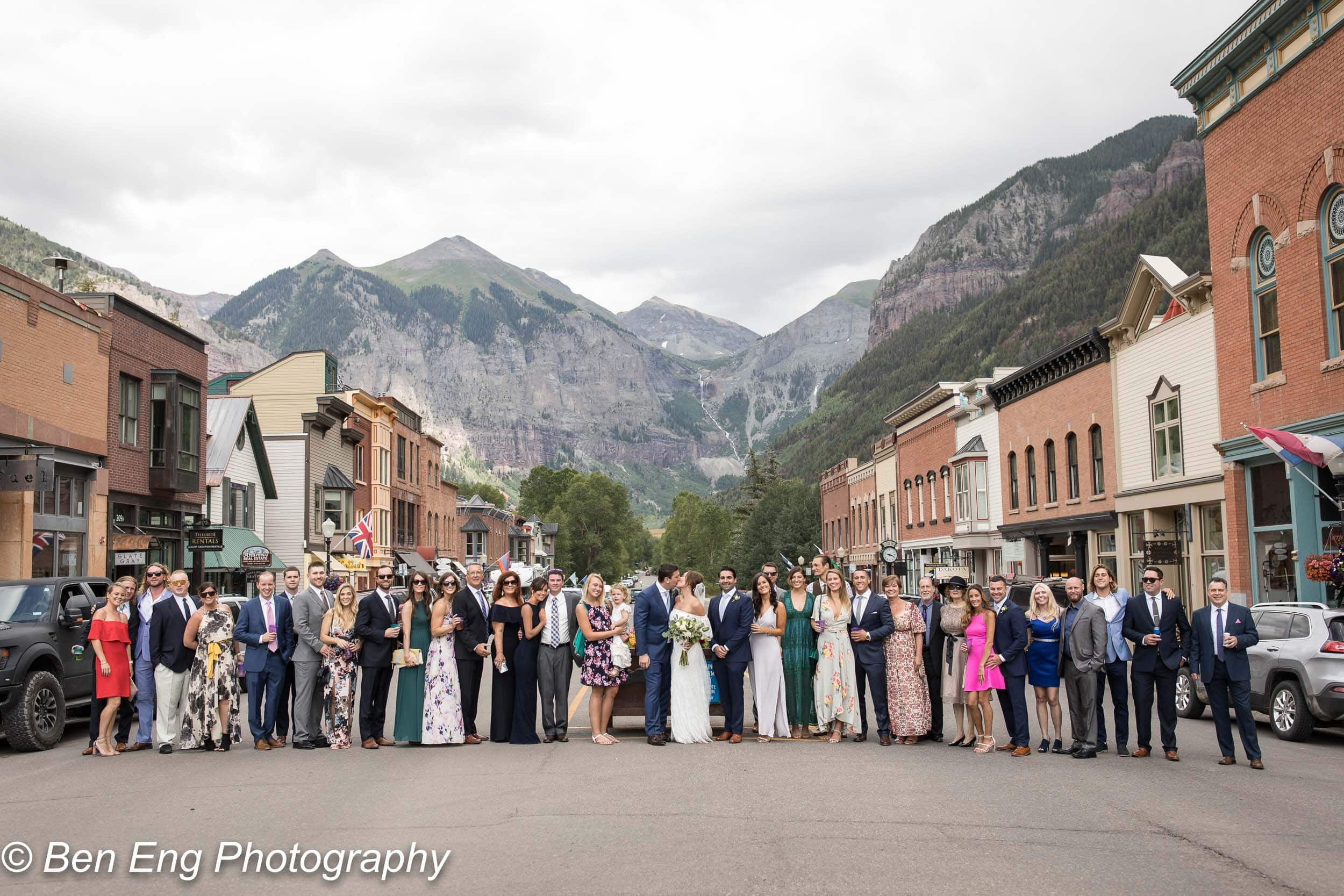 Jack and Erika's destination wedding at St Patrick's and Gorrono in Telluride, Colorado