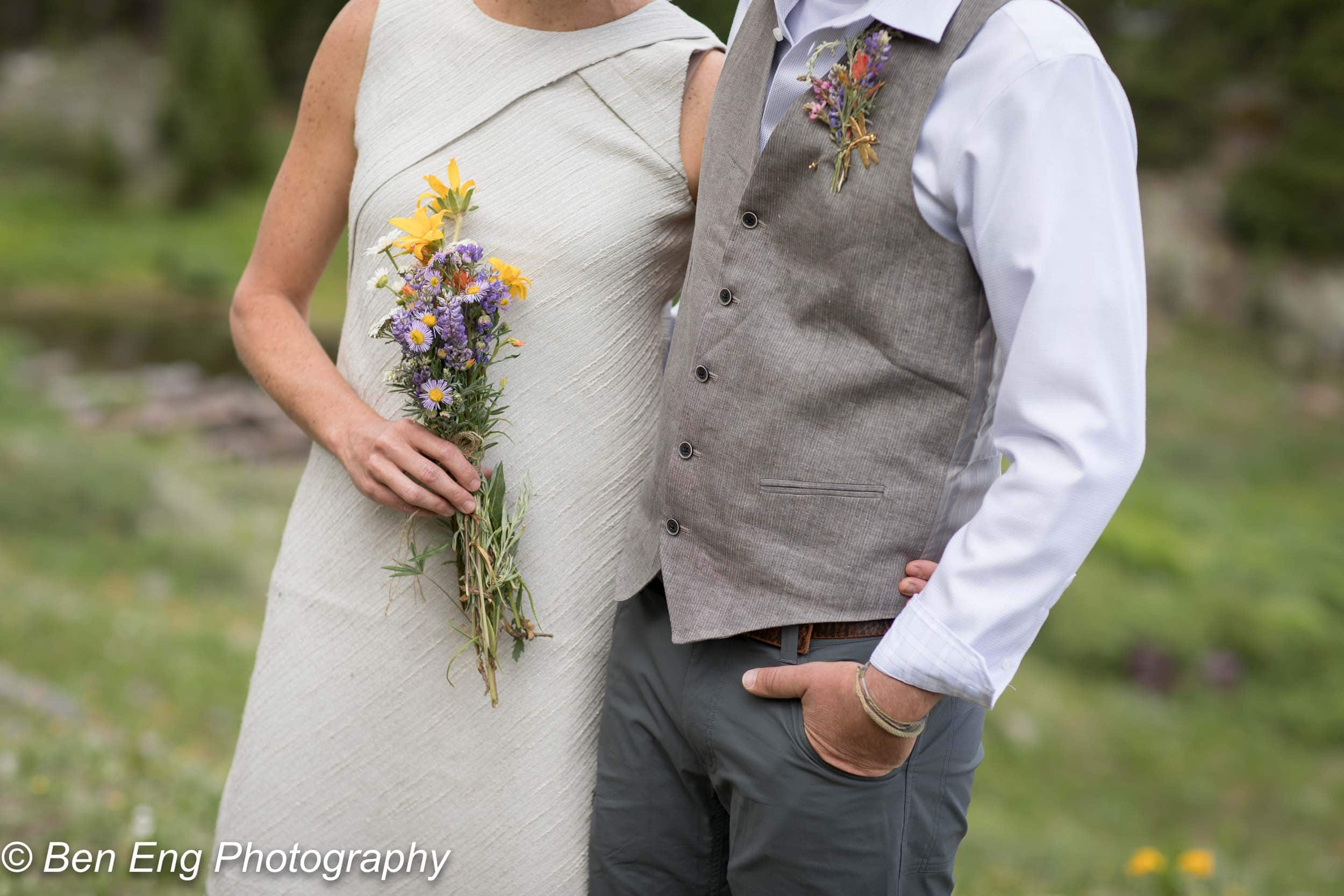 A beautiful Colorado wedding in the mountains of Telluride by Ben Eng Photography