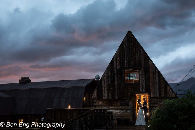 Rustic destination wedding in the mountains of Telluride, Colorado