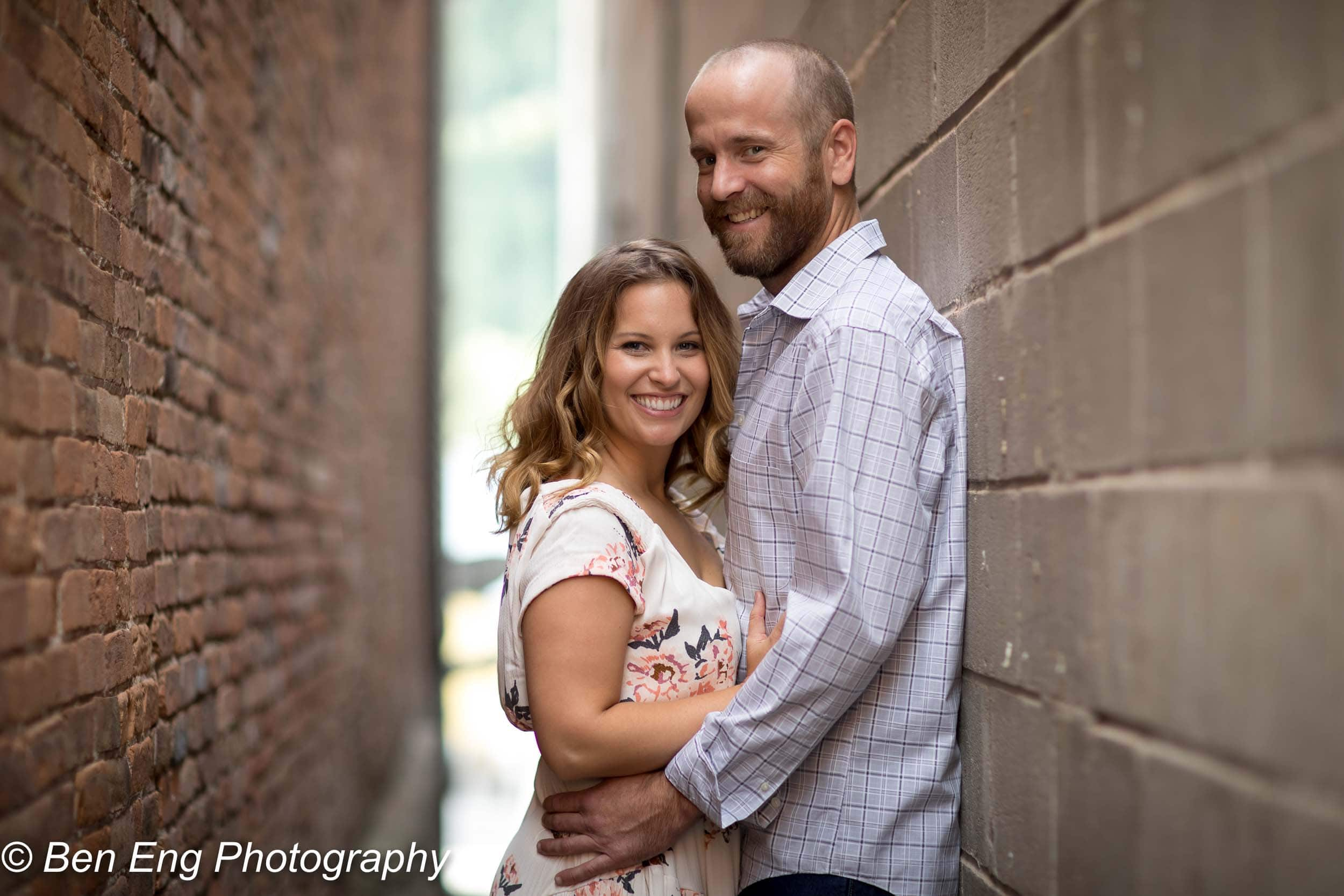 Engagement session in Telluride, CO.