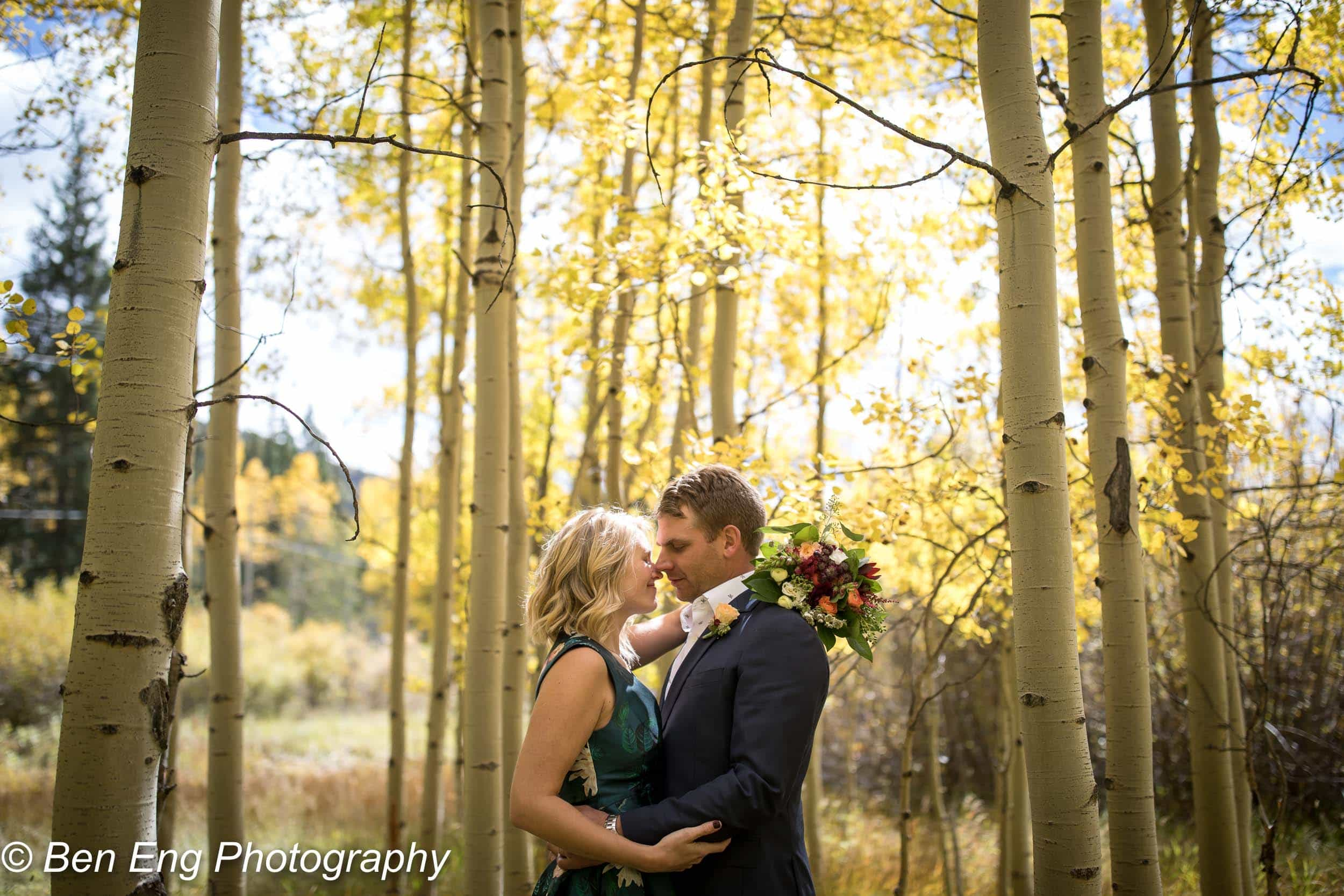 Forbes and Kate's Telluride elopement.