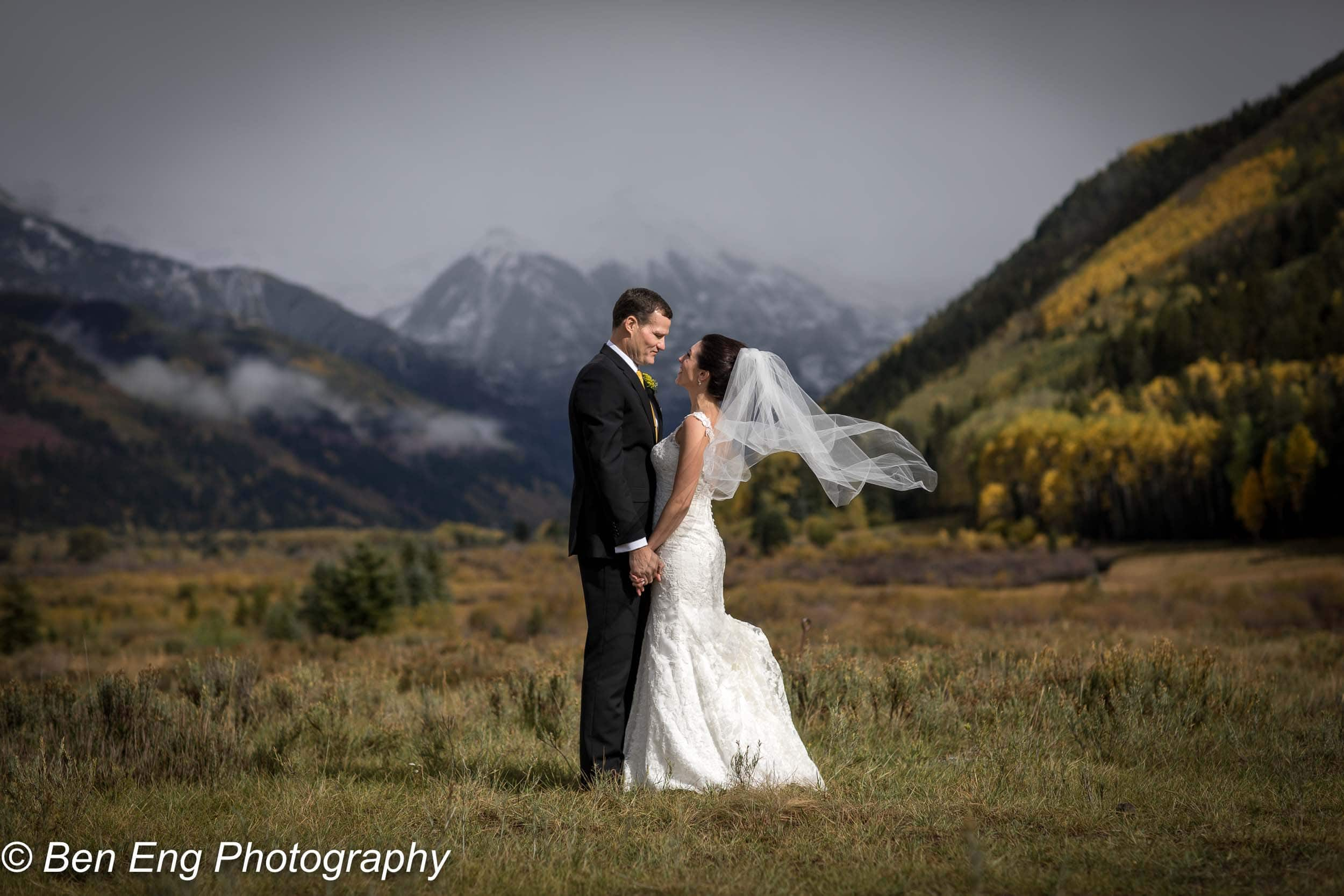 Mike and Natania's wedding at the Peaks Resort in Telluride, Colorado.