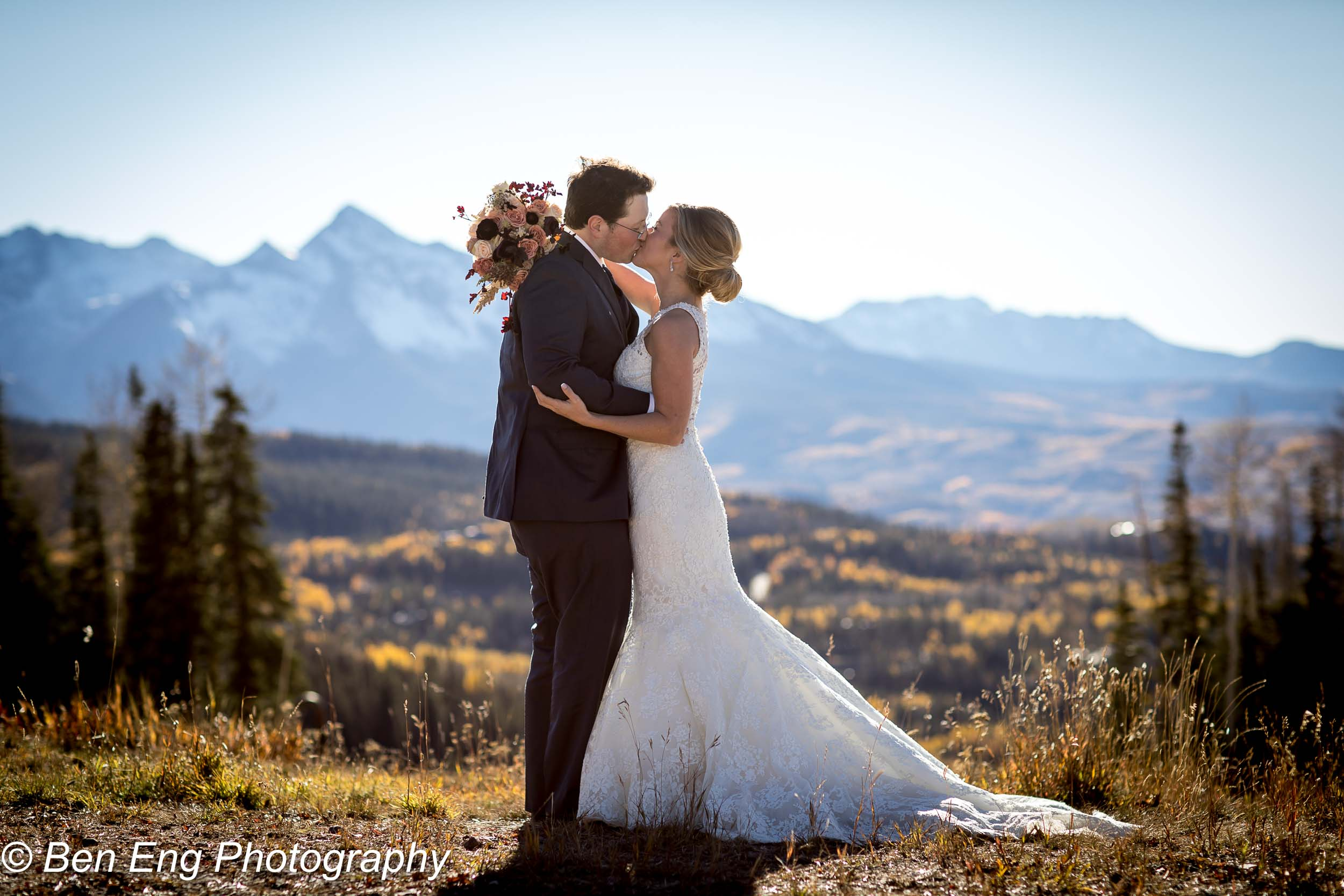 Molly and Jered's Wedding in the mountains of Colorado!