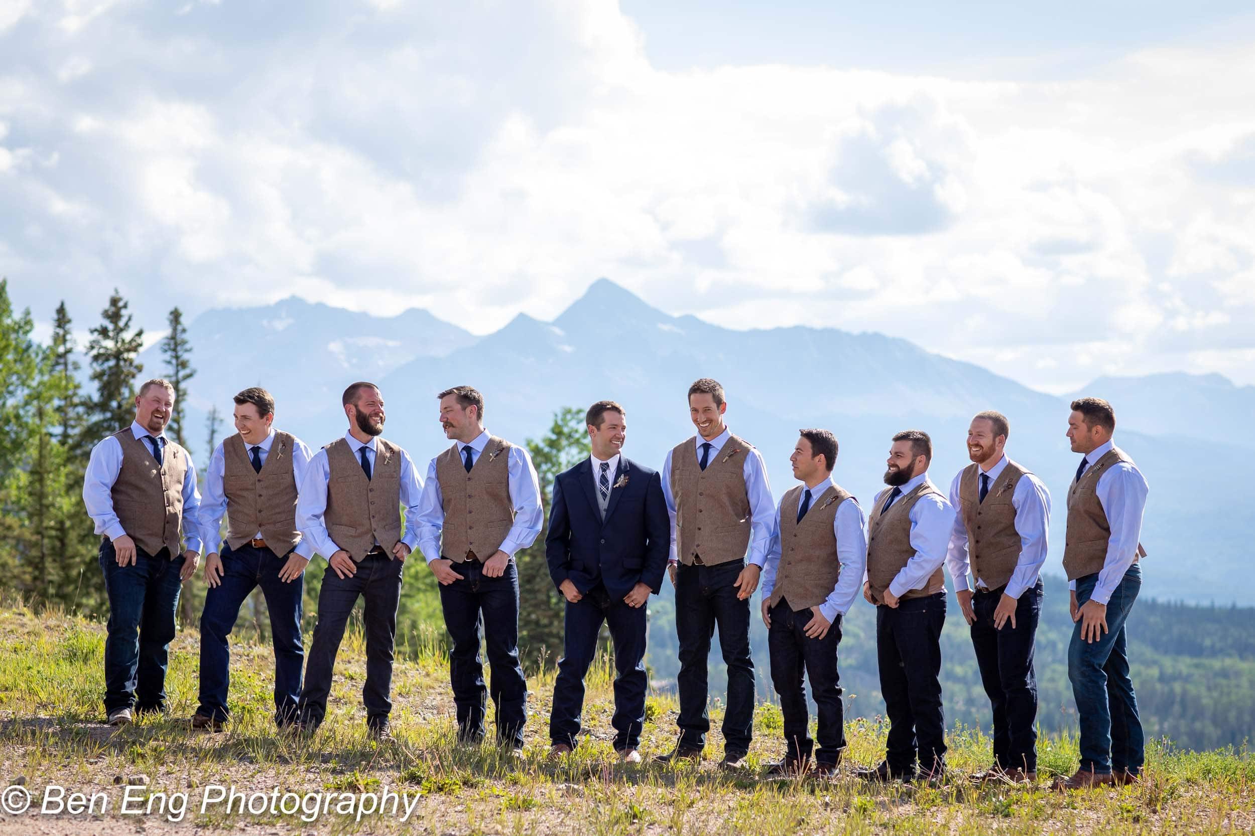 A rustic Colorado mountain wedding in Telluride