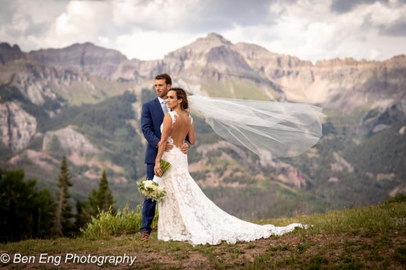 Matt and Brigid's rustic Telluride wedding at Gorrono Ranch in the mountains of Colorado.