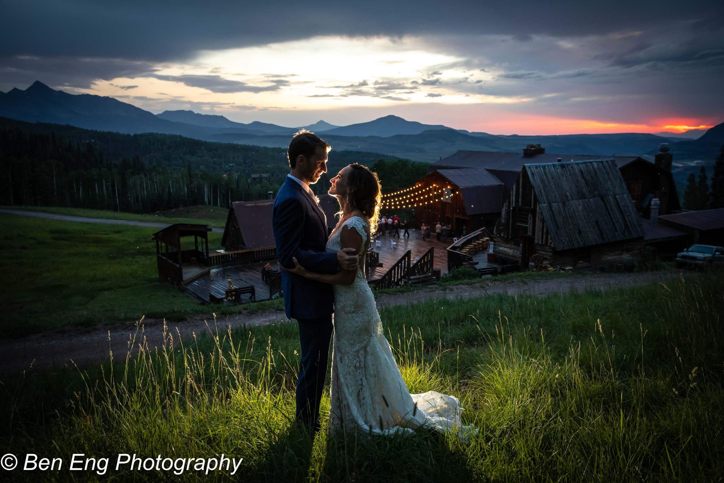 Matt and Brigid's rustic Telluride wedding at Gorrono Ranch in the mountains of Colorado.