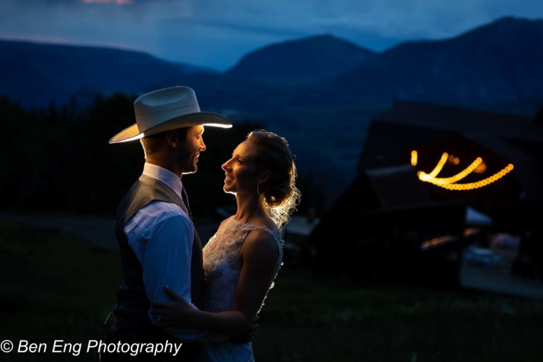 A rustic Colorado mountain wedding in Telluride