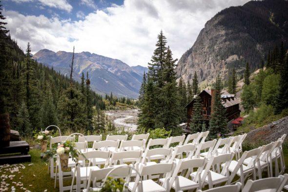 Wedding at the Eureka Lodge in Silverton, CO