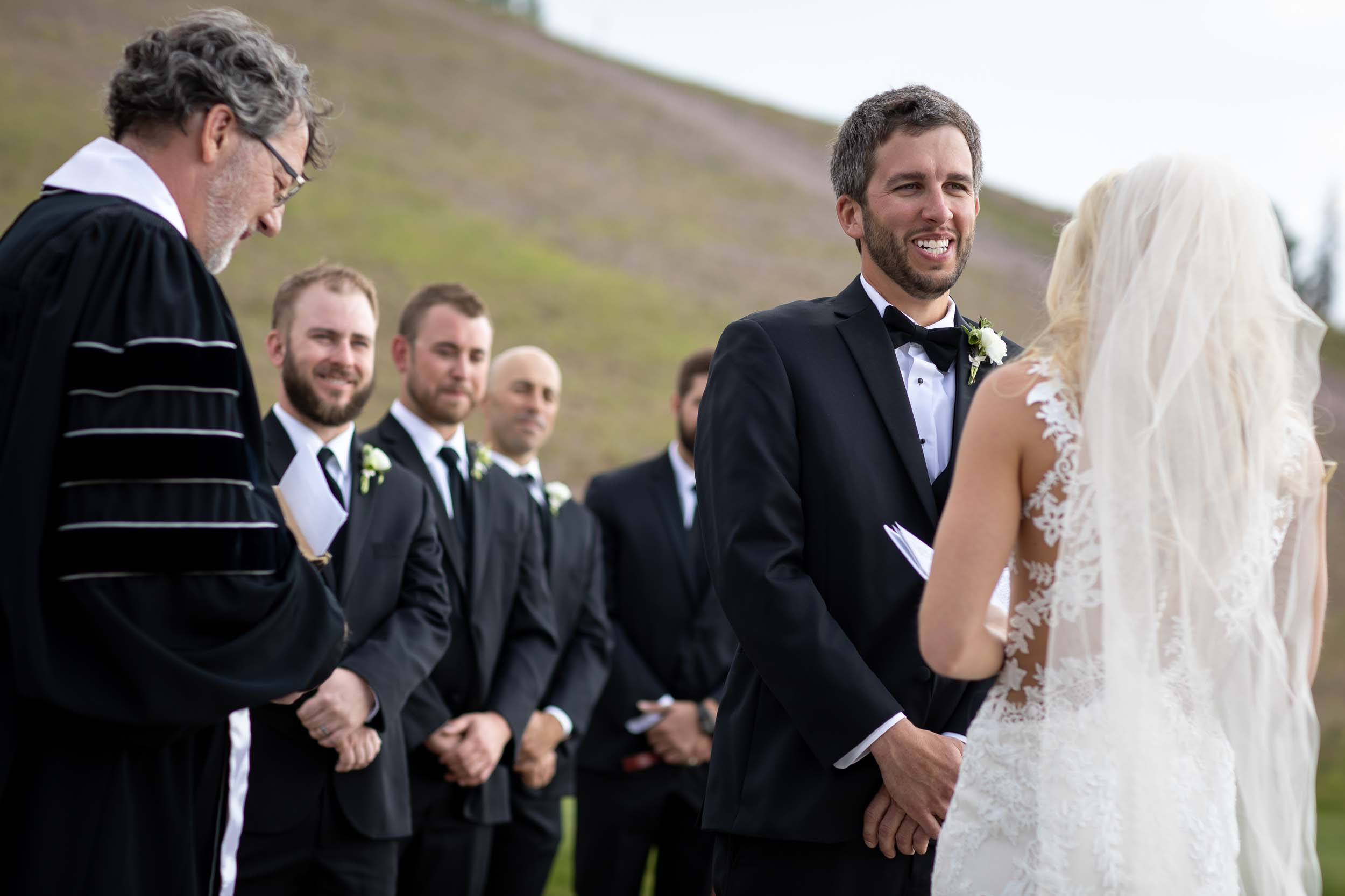 James and Casey's wedding at the San Sophia Overlook and Allreds in Telluride, CO