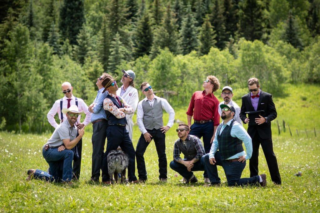 DIY wedding in Marble, Colorado by photographer Ben Eng