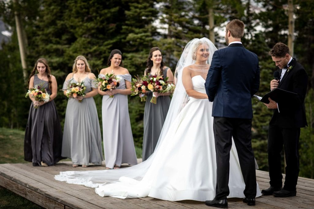 Wedding at the San Sophia Overlook and Allred's by Telluride Wedding Photographer Ben Eng