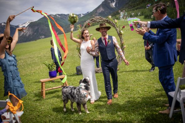 DIY wedding in Marble, Colorado by photographer Ben Eng