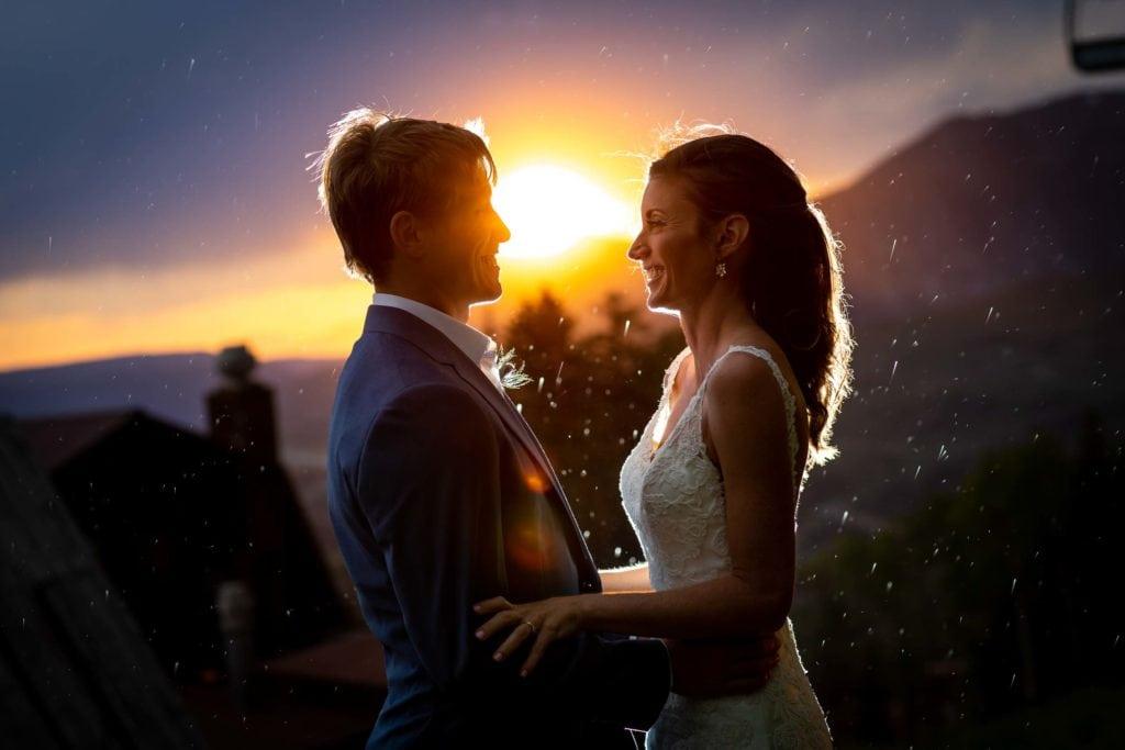 Rustic Colorado mountain wedding by Telluride photographer Ben Eng