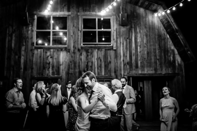 Rustic mountain wedding photographed by Ben Eng at Gorrono Ranch in Telluride, Colorado.