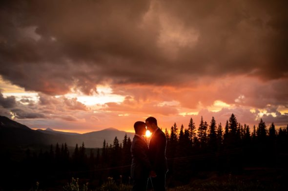 Adventure elopement in Telluride, CO. Image by Ben Eng.