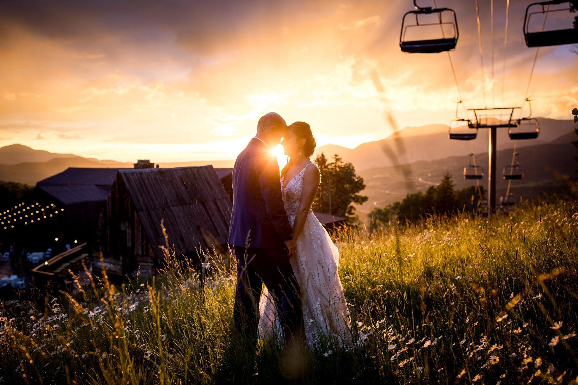A beautiful destination wedding at Gorrono Ranch in the mountains of Telluride, Colorado